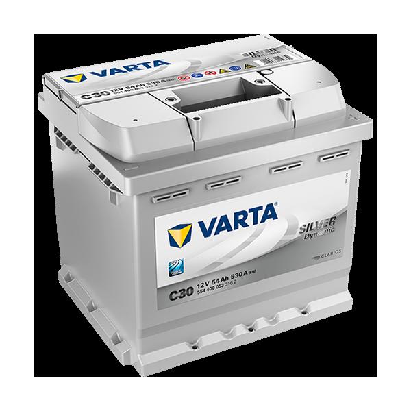 Varta Silver Dynamic C30 - 12V - 54AH - 530A (EN)
