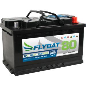 Flybat F80 AGM - 12V - 80AH - 800A(EN)