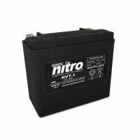 NITRO HVT 01 AGM geschlossen Harley OE 65989 - 12V - 20Ah - 310A/EN