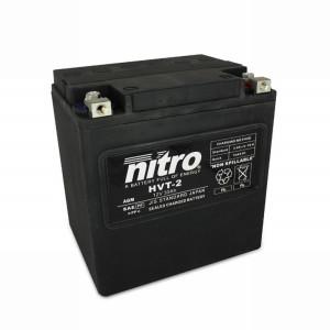 NITRO HVT 02 AGM geschlossen Harley OE 66010 - 12V - 30Ah...