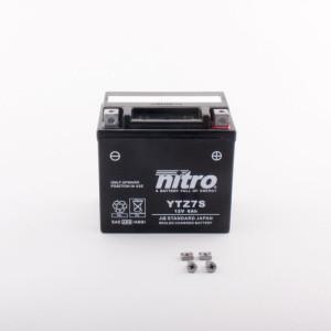 NITRO YTZ7S-BS AGM mit Säurepack - 12V - 6Ah - 130A/EN