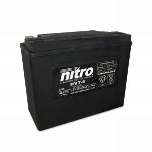 NITRO HVT 06 AGM geschlossen Harley OE 66010 - 12V - 23Ah...