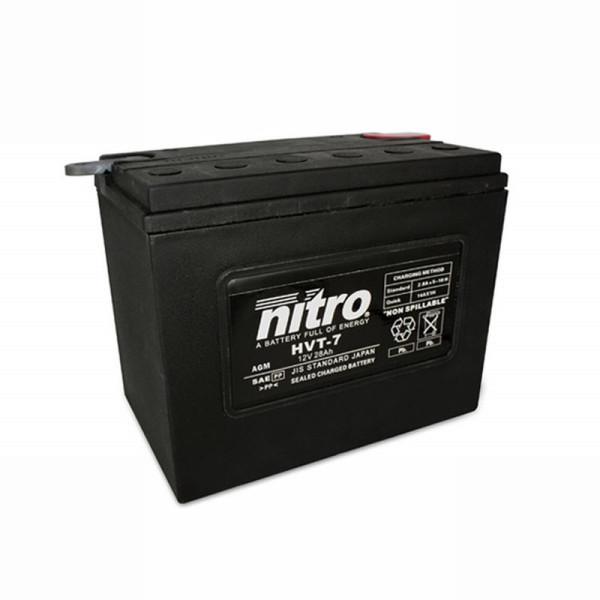 NITRO HVT 07 AGM geschlossen Harley OE 66007 - 12V - 30Ah - 370A/EN
