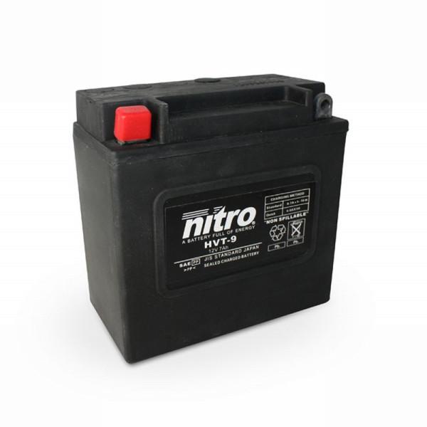 NITRO HVT 09 AGM geschlossen Harley OE 66006 - 12V - 8Ah - 130A/EN