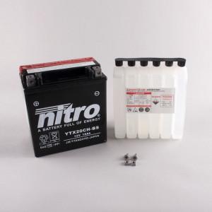 NITRO YTX20CH-BS AGM mit Säurepack HP - 12V - 18Ah -...
