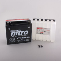 NITRO YTX20H-BS AGM mit Säurepack HP - 12V - 18Ah - 310A/EN