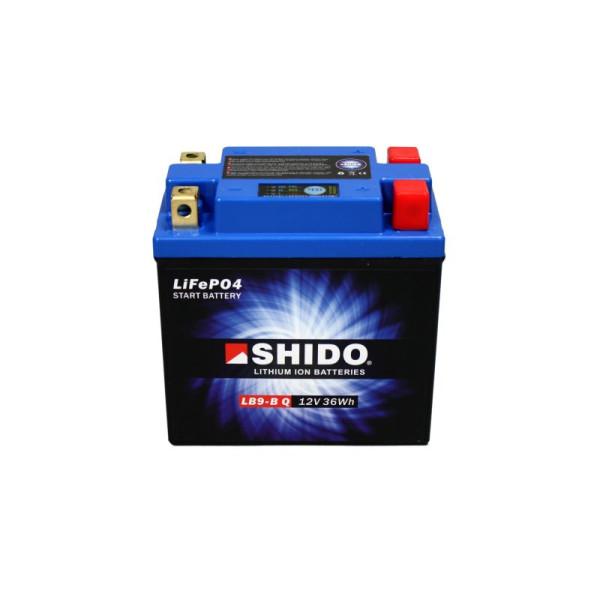 SHIDO LB9-B Q Lithium Ion - 12 V - 3 Ah - 180 A/EN