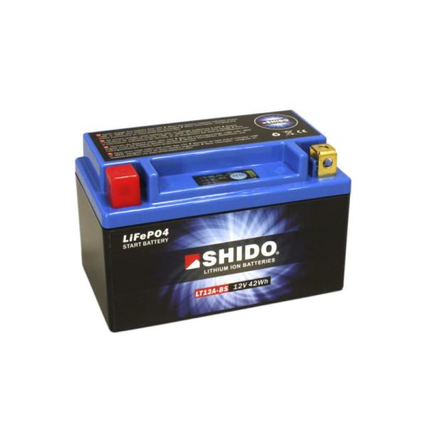 SHIDO LT12A-BS Lithium Ion - 12 V - 3,5 Ah - 210 A/EN