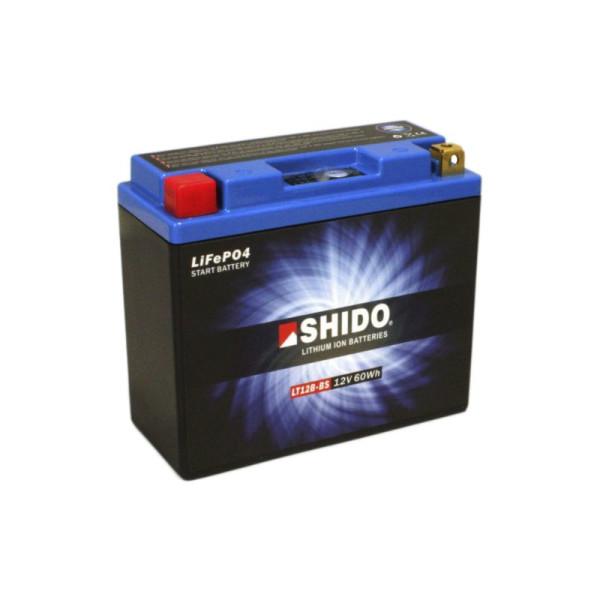 SHIDO LT12B-BS Lithium Ion - 12 V - 5 Ah - 300 A/EN