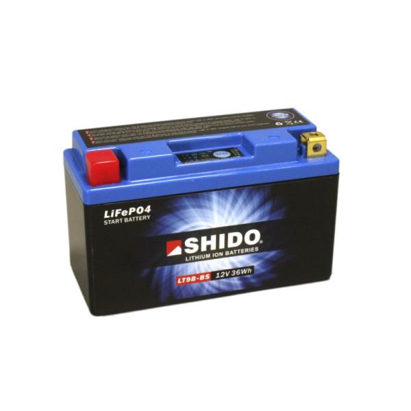 SHIDO LT9B-BS Lithium Ion - 12 V - 3 Ah - 180 A/EN