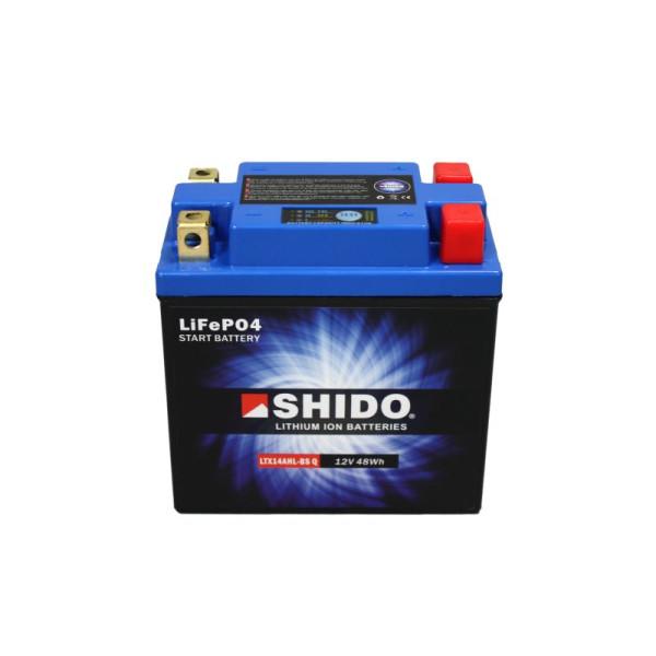 SHIDO LTX14AHL-BS Q Lithium Ion - 12 V - 4 Ah - 240 A/EN