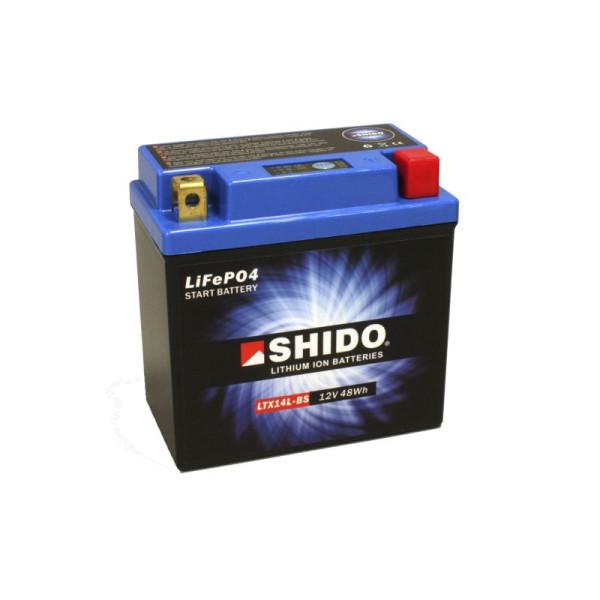 SHIDO LTX14L-BS Lithium Ion - 12 V - 4 Ah - 240 A/EN