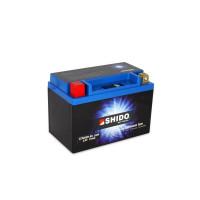 SHIDO LTX20CH-BS Lithium Ion - 12 V - 6 Ah - 360 A/EN