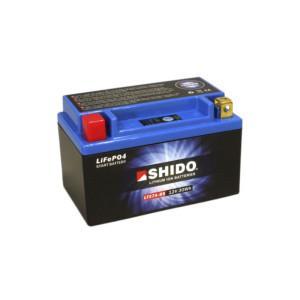 SHIDO LTX7A-BS Lithium Ion - 12 V - 2,4 Ah - 150 A/EN