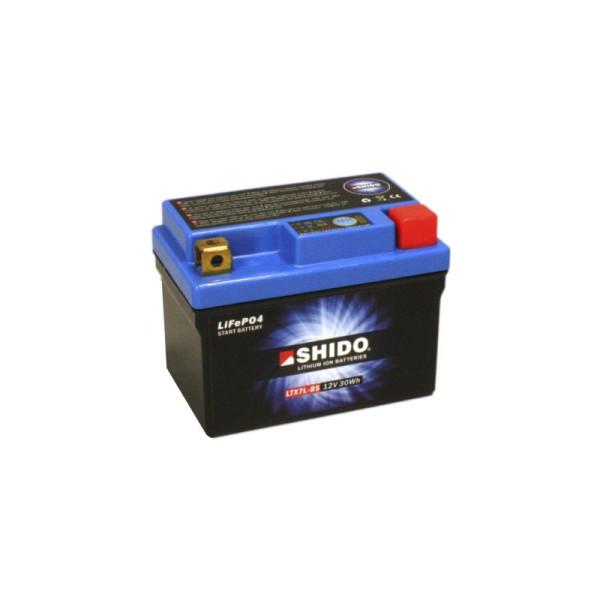 SHIDO LTX7L-BS Lithium Ion - 12 V - 2,4 Ah - 150 A/EN