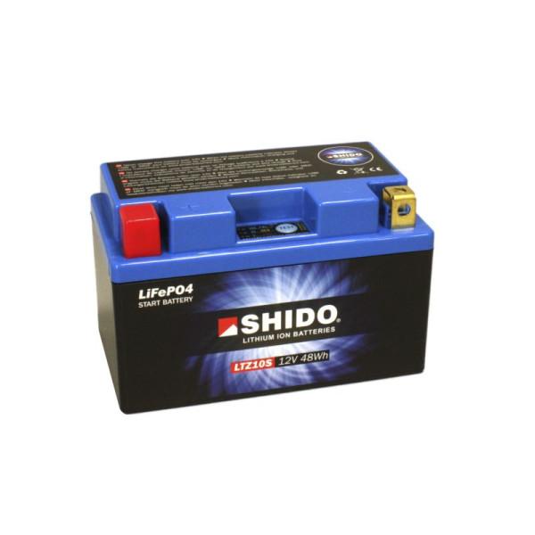 SHIDO LTZ10S Lithium Ion - 12 V - 4 Ah - 240 A/EN