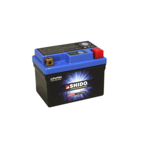 SHIDO LTZ7S Lithium Ion - 12 V - 2,4 Ah - 150 A/EN