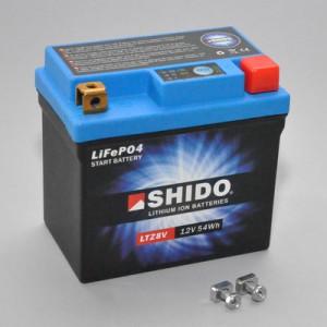 SHIDO LTZ8V Lithium Ion - 12 V - 4,5 Ah - 270 A/EN