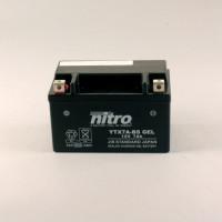 NITRO YTX7A-BS GEL AGM geschlossen - 12V - 6Ah - 105A/EN