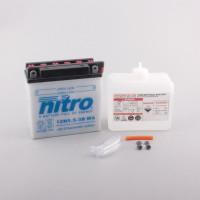 NITRO 12N5.5-3B mit Säurepack - 12V - 5,5Ah - 60A/EN