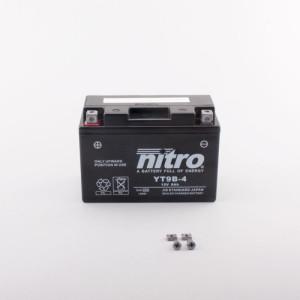 NITRO YT9B-4 AGM GEL geschlossen - 12V - 8Ah - 120A/EN