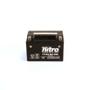 NITRO YTX9-BS GEL AGM geschlossen - 12V - 8Ah - 135A/EN