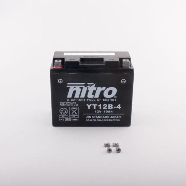 NITRO YT12B-4 AGM GEL geschlossen - 12V - 10Ah - 210A/EN