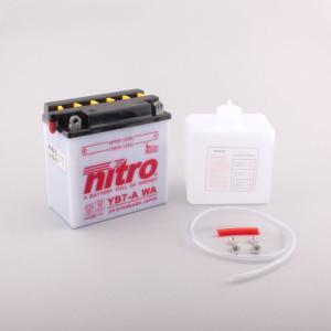 NITRO YB7-A mit Säurepack - 12V - 8Ah - 124A/EN