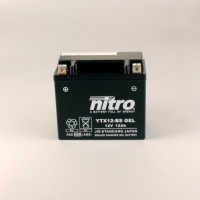 NITRO YTX12-BS GEL AGM geschlossen - 12V - 10Ah - 180A/EN