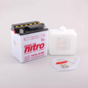 NITRO YB10L-A2 mit Säurepack - 12V - 11Ah - 160A/EN