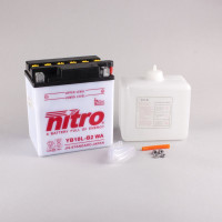 NITRO YB10L-B2 mit Säurepack - 12V - 11Ah - 160A/EN
