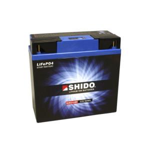 SHIDO 51913 Lithium Ion - 12 V - 7,5 Ah - 420 A/EN