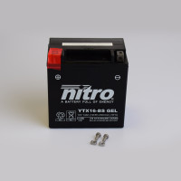 NITRO YTX16-BS GEL AGM geschlossen - 12V - 14Ah - 230A/EN