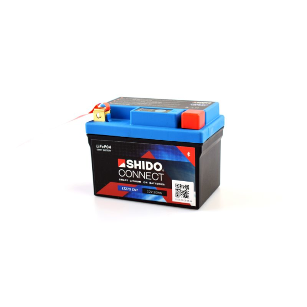 SHIDO connect Lithium Batterie - LTZ7S - 12 V - 2,4 Ah -...