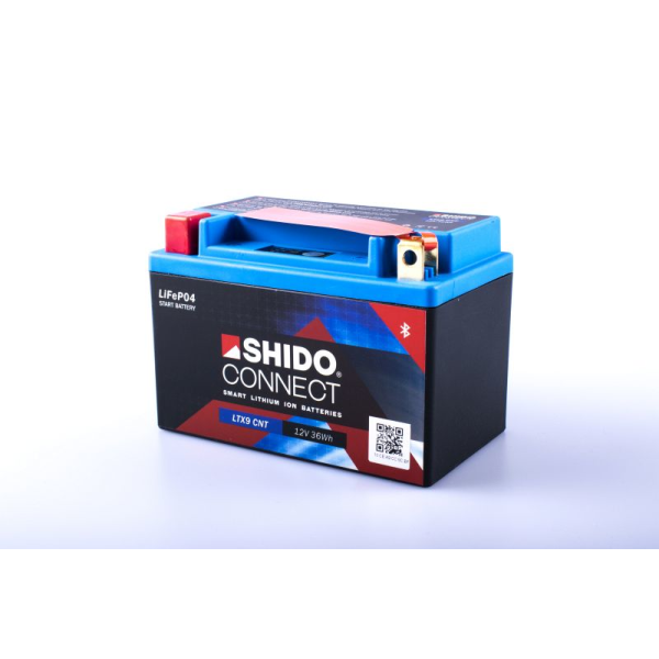 SHIDO connect Lithium Batterie - LTX9 - 12 V - 3 Ah - 150...