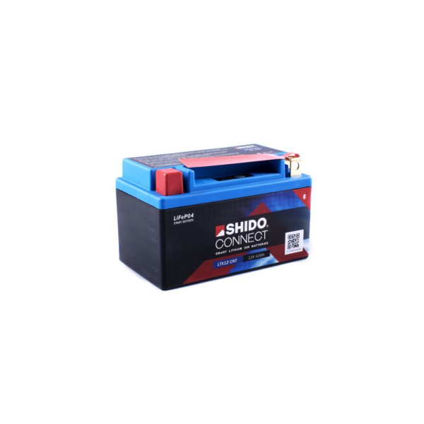 SHIDO connect Lithium Batterie - LTX12 - 12 V - 4 Ah -...
