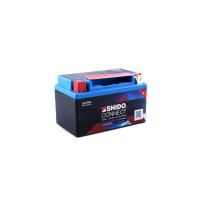SHIDO connect Lithium Batterie - LTX12 - 12 V - 4 Ah - 240 A/EN