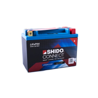 SHIDO connect Lithium Batterie - LTX20 - 12 V - 6 Ah - 360 A/EN