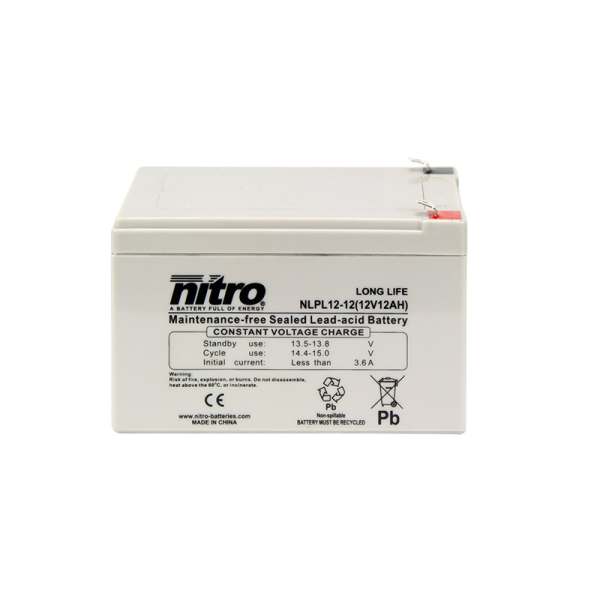 Nitro High Performance LPL12-12 - 12V - 12Ah