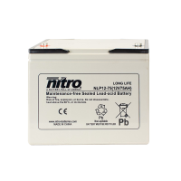 Nitro High Performance LP12-75 - 12V - 75Ah