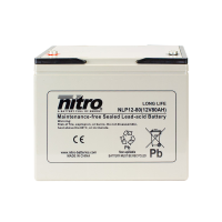 Nitro High Performance LP12-80 - 12V - 80Ah