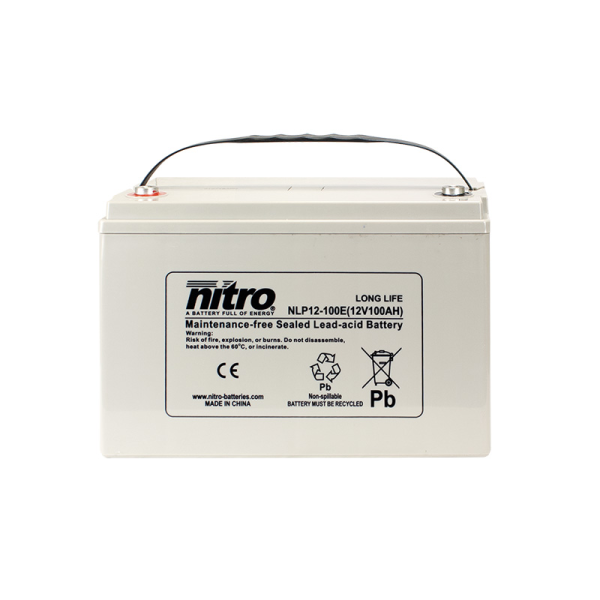 Nitro High Performance LP12-100E - 12V - 100Ah