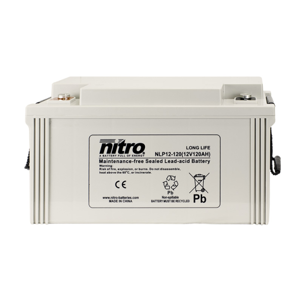 Nitro High Performance LP12-120 - 12V - 120Ah