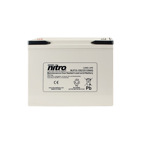 Nitro High Performance LP12-135 - 12V - 135Ah