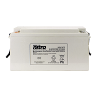 Nitro HighRate LHR12510W - 12V - 150Ah