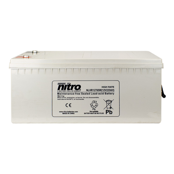 Nitro HighRate LHR12765W - 12V - 225Ah