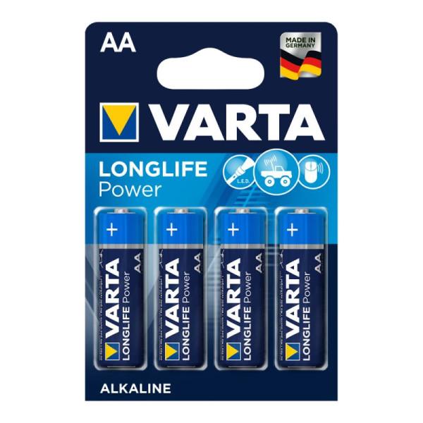 Varta Longlife Power ehem. High Energy Mignon AA Batterie 4906 LR06 (4er Blister)