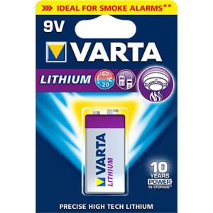 Varta Professional Lithium 6FR61 9V Block Batterie (1er...