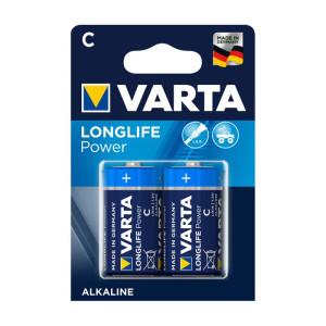 Varta Longlife Power ehem. High Energy Baby C Batterie...