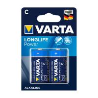 Varta Longlife Power ehem. High Energy Baby C Batterie 4914 LR14 (2er Blister)